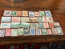 Lot Of 34 Greek Stamps