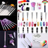 Lot Pinceaux - Manucure Nail Art Ongle Brosse  Gels UV Conseils d'ongle ssin