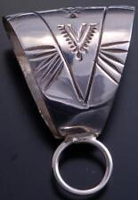 Navajo Handmade Necklace Bail Extender - 7J20B