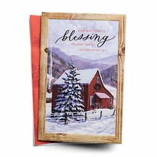 DaySpring God's Blessing - 18 Premium Christmas Boxed Cards