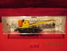 Fleischmann échelle HO : Réf:5019: Wagon grue de chantier