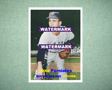 Mike Fornieles Boston Red Sox 1957 Style Custom Art Card