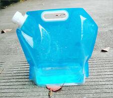 Portable Folding Water Storage Lifting Bag Camping Survival Kit Supply 5L