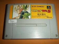 DRAGON BALL Z CHO BUTODEN Sunburn Nintendo Super Famicom software SFC SNES