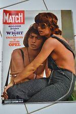 PARIS MATCH N°1114 12 SEPT 1970 // JEUNES A WIGHT NOUVELLE OPEL NOCES MAHARI