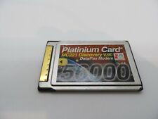 PLATINIUM CARD MC221 DISCOVERY V.90 56000    #GK4553