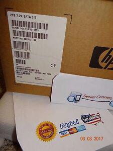 "507632-B21 HP 2TB 7.2K 3.5"" SATA HARDDRIVE 508040-001"