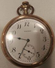 Vintage Waltham pocket watch 15 jewels Gold Filled case