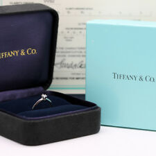 Tiffany & Co. Verlobungsring Platin 950-Gr.51 - Box & Zertifikat 0,21 ct - VVS2