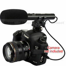 iShoot Pro DC/DV Stereo Microphone for Hot Shoe Digital Camera Video Camcorder