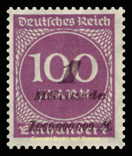 EBS Germany 1923 Inflation Number in Circle 2. OPD-Ausgabe Michel No. 331 MNH**