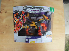 Transformers cybertron Action Figure Voyager Scourge + Syber Plant Key MISB new