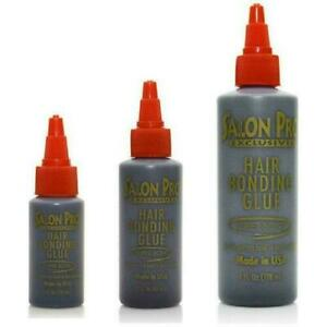 Salon Pro Bonding Glue (Black) for Hair Extensions All sizes available.Free P&P