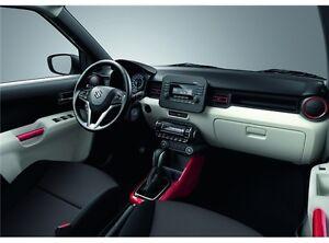 Modanatura rossa console centrale per Suzuki Ignis 2017