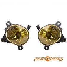 Front Fog Lights Lamps Set Pair AUDI A1 A4 A5 A6 Q3 VW PASSAT CC Crystal Yellow