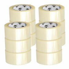 12 Rolls Carton Sealing Clear Packingshippingbox Tape 2 X 100 Yards