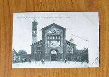 CARTOLINA TORINO MADONNA DI CAMPAGNA RARA VIAGGIATA 1904 SUBALPINA QQ