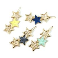 Women Girls Star Barrette Hair Clip Stick Pins Hairpin Headwear Accessories New