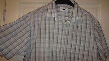 Mens Purple Flag 100% Cotton Short Sleeved Shirt Size Large