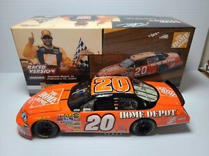 2007 Tony Stewart #20 Home Depot Twin 150's Race Win 1:24 NASCAR Action MIB