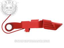 Glock OEM Extended Slide Stop Release Lever SP07496 7496 Gen 2-4 Cerakote Red
