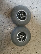 Pair Of Pneumatic Front Invacare Mobility Wheels 3.00-4