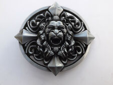 Belt Buckle Metal 3D Lion Head