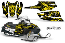 Arctic Cat Firecat Sabercat Graphics Kit Snowmobile Decals Sled Wrap NIGHTWOLF Y