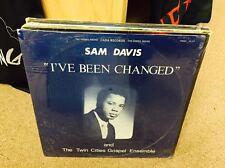 Sam Davis & Twin Cities Gospel Ensemble I've Been Changed vinyl LP SEALED 1979