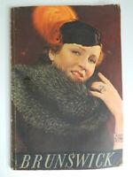 Catálogo Las Pieles Brunswick & Tarifa C.
