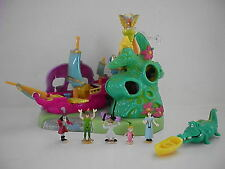 VINTAGE POLLY POCKET BLUEBIRD DISNEY PETER PAN NEAR COMPLETE :)VERY RARE :)