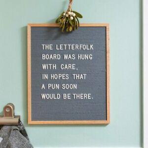 """Letterfolk Letter Board w/ Letters 16"""" by 20"""""""