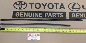2010-2018 Toyota 4Runner Front Windshield Wiper Blade Inserts NEW Genuine OEM