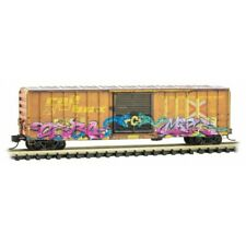 Z Scale - Micro-Trains 510 45 012 Railbox 50' Box Car w/ Poison Day Graffiti