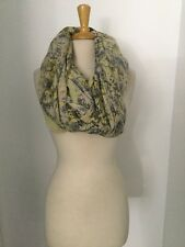 NWOT Anthropologie Floral Infinity Scarf