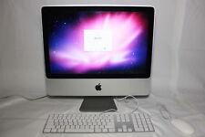 """Apple iMac A1224 20"""" Desktop - MC015LL/A (April, 2009)"""