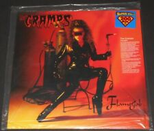 THE CRAMPS flamejob USA LP new sealed 200 GRAM limited edition #1063/1500
