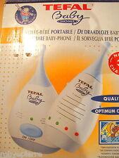 Sorveglia bebè Tefal Baby Control Phone Home BabyPhone CEPT/LPD/DK/9858  600 P