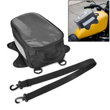 Universal Motorcycle Magnetic Tank Bag / Backpack Saddle Bag Waterproof For BMW