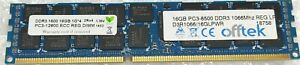 16GB OFFTEK 2Rx4 PC3L-12800R DDR3-1600 Registered RAM Module