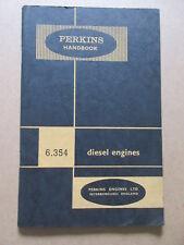 Équipements Professionnels Perkins Série P Ind Moteur Diesel Handbook 1956 #6589 Agriculture