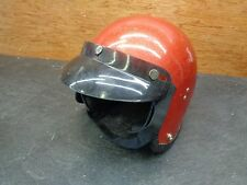 Vintage Metallic Red Helmet  1054