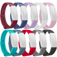 Soft Sports Silicone Replacement Watch Band Strap For Fitbit Inspire Inspire HR