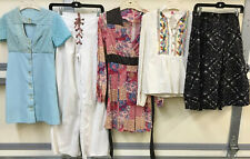 Vintage 1970s Hippy Mod Boho Peasant Assorted Lot Of 5 Women's Clothing Xxs Xs