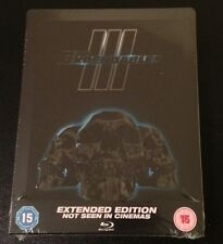 THE EXPENDABLES 3 Blu-Ray SteelBook Zavvi UK Exclusive Region B. New & Rare!
