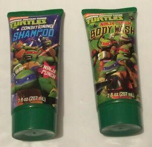 Teenage Mutant Ninja Turtles Ninja Punch Body Wash & Shampoo Set 7 fl. oz. each