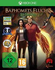 Baphomets Fluch 5 - Der Sündenfall | XBOX One | gebraucht in OVP mit Anleitung