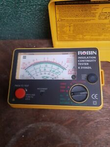 Robin Insulation Continuity Tester K3106DL
