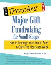 Major Gift Fundraising for Small Shops: How to Leverage Your Annual Fund in Only