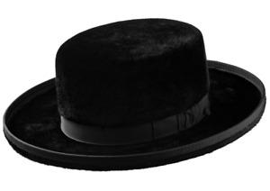 Selentino Orthodox Jewish Hasidic Authentic Beaver Hat High/Low Crown All Sizes